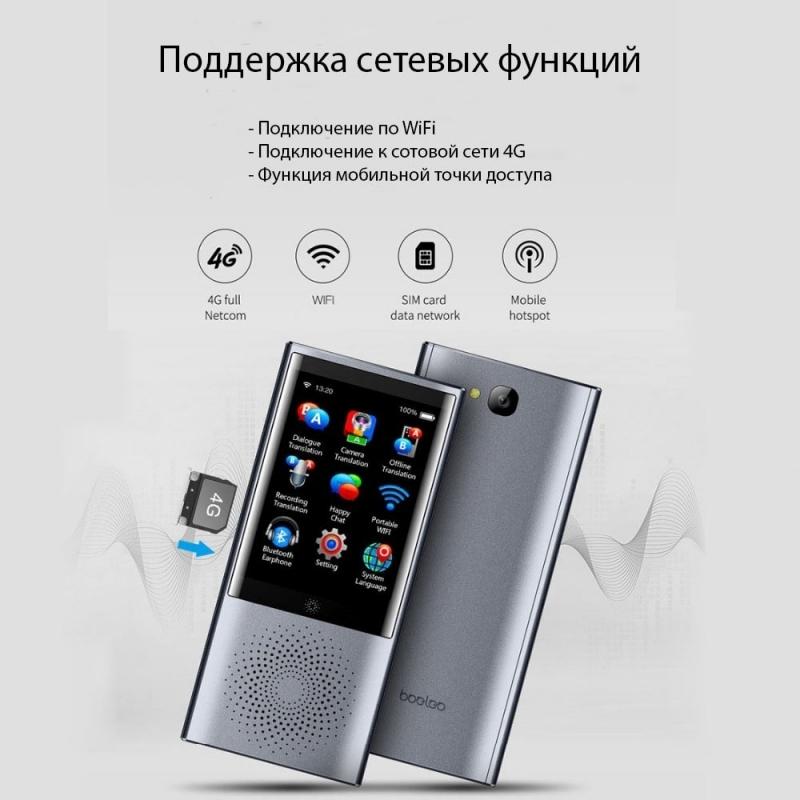 Голосовой переводчик W1 на русском